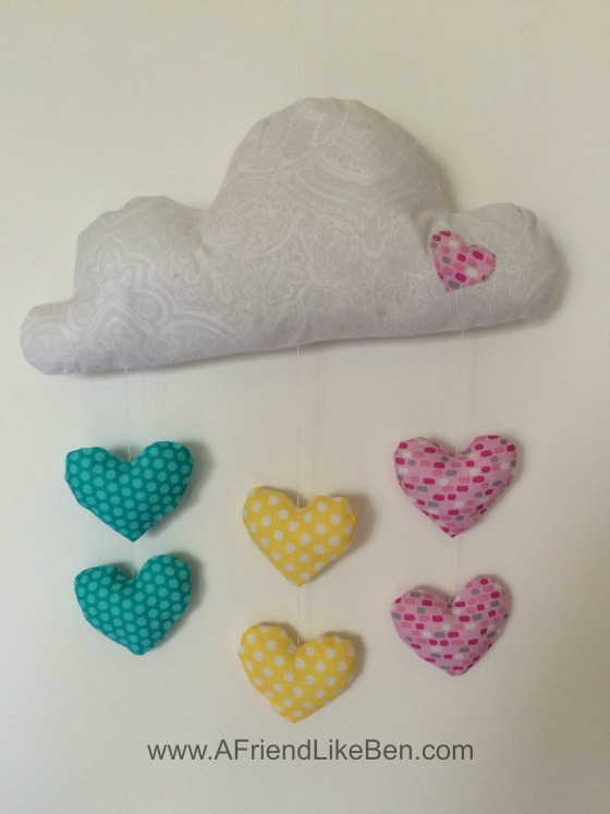 cloud and heart mobile